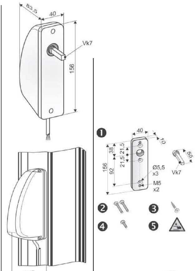 OFV - sistem inlocuire maner actionare ferestre